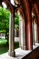 Monastery Cloister and Church, Bad Wimpfen, Germany