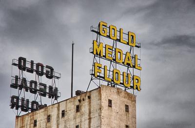 Gold Medal Flour sign